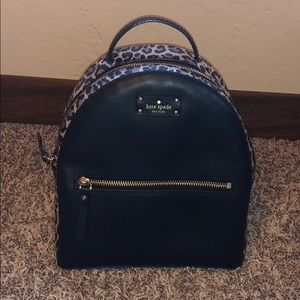 Kate Spade Mini Sammi Grove Leopard Backpack